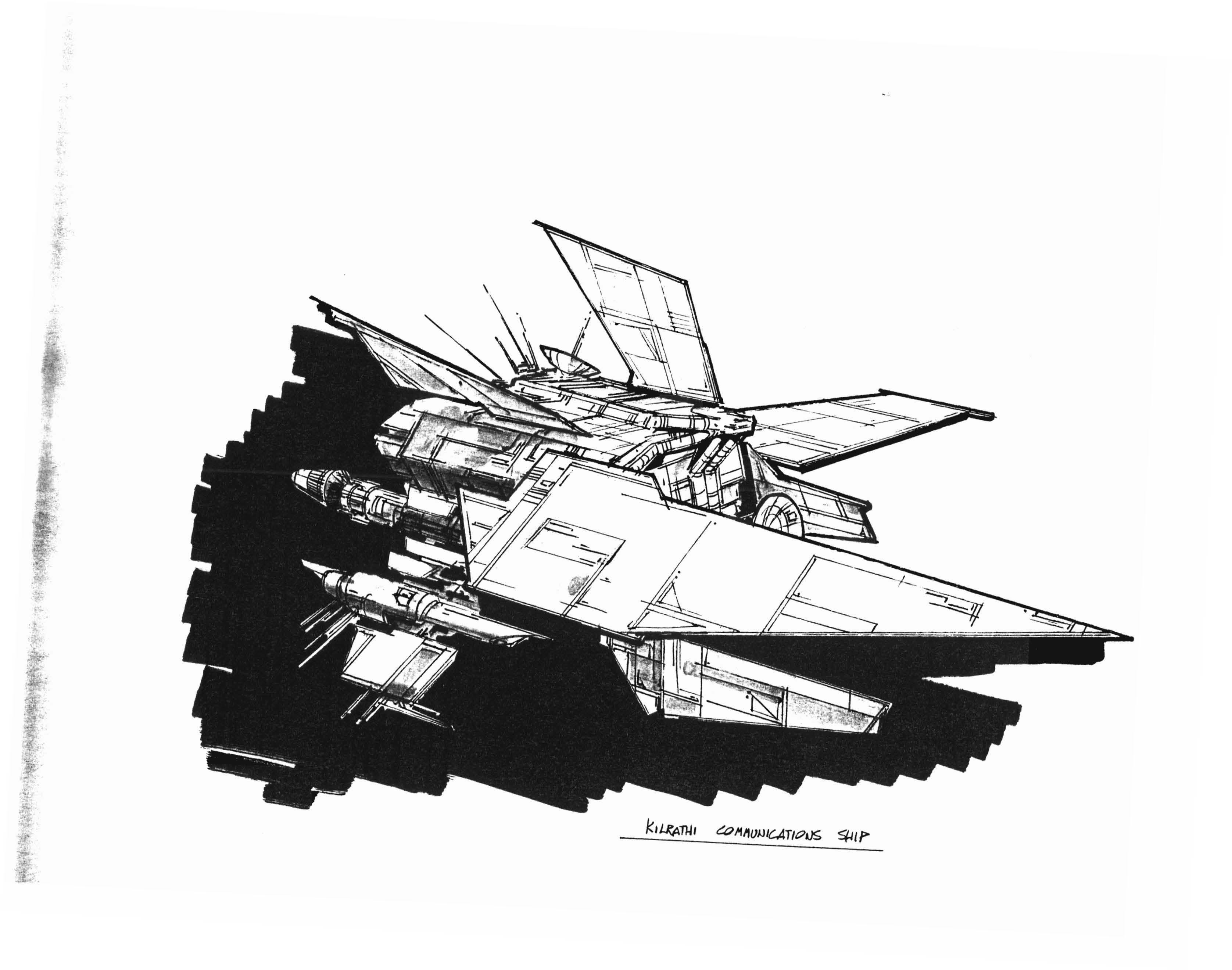 Kilrathi-Comm-Ship