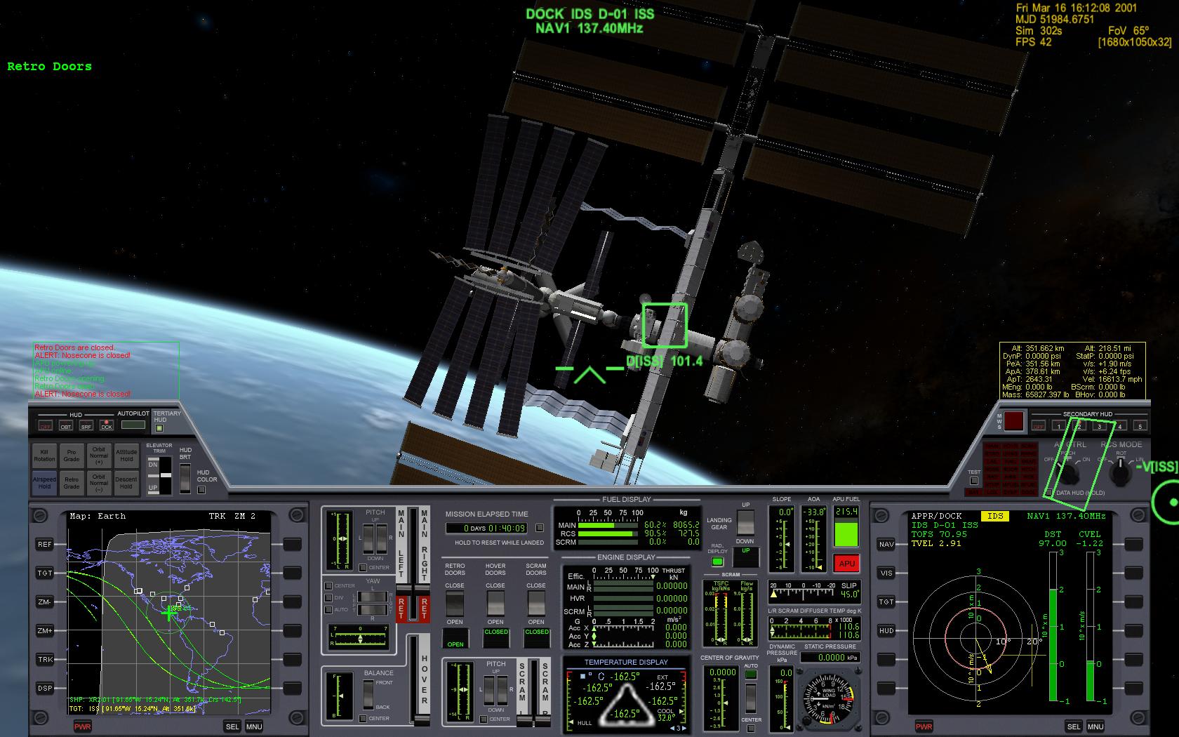 orbiter, un simulateur pour les vrais durs.
